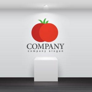 画像2: トマト・野菜・ロゴ・マークデザイン092