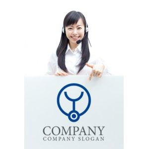 画像3: 聴診器・Y・産婦人科ロゴ・マークデザイン059