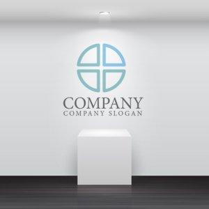 画像2: 十字・輪・薬・ロゴ・マークデザイン090