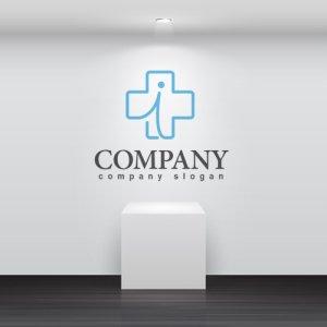 画像2: 十字・線・人・i・ロゴ・マークデザイン099