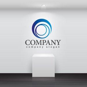 画像2: 輪・渦・回転・ロゴ・マークデザイン253
