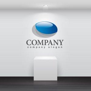 画像2: 波・球・楕円・ロゴ・マークデザイン299