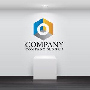 画像2: ボックス・六角形・ボルト・グラデーション・ロゴ・マークデザイン576
