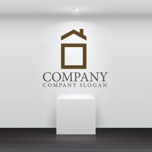 画像2: 家・屋根・四角・ロゴ・マークデザイン680