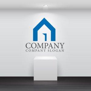 画像2: 家・ドア・上昇・ロゴ・マークデザイン682