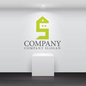 画像2: 家・S・2階・ロゴ・マークデザイン703