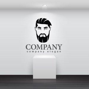 画像2: 顔・似顔絵・髭・ロゴ・マークデザインKO768