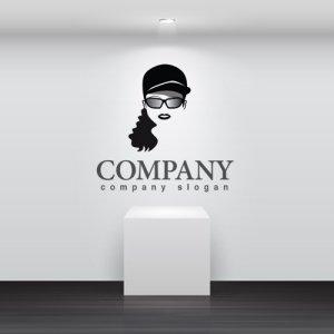 画像2: 顔・似顔絵・帽子・サングラス・ロゴ・マークデザインKO783