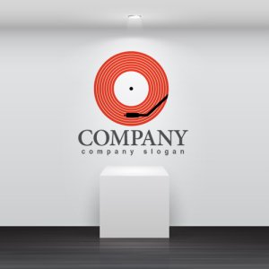 画像2: レコード・ステレオ・ロゴ・マークデザイン019