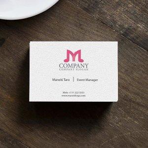 画像2: M・音符・楽器・ロゴ・マークデザイン025