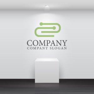 画像2: クリップ・つながり・人ロゴ・マークデザイン103