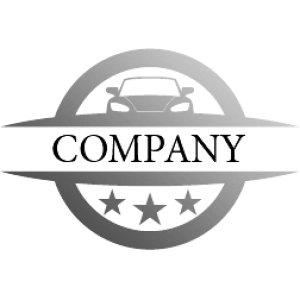 画像4: 車・輪・エンブレム・グラデーション・ロゴ・マークデザイン185