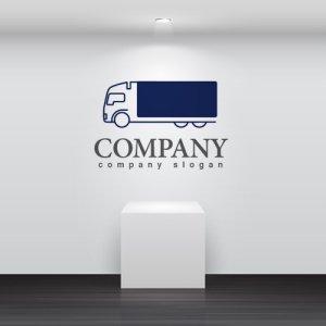 画像2: 輪・トラック・運送・貨物・ロゴ・マークデザイン200