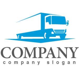 画像1: トラック・前進・運送・ロゴ・マークデザイン201