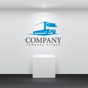 画像2: トラック・前進・運送・ロゴ・マークデザイン201