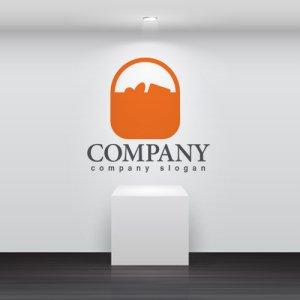 画像2: かご・買い物・ロゴ・マークデザイン219