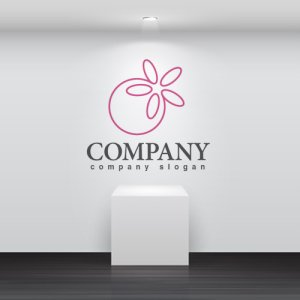 画像2: 花・指輪・輪・線・ロゴ・マークデザイン660