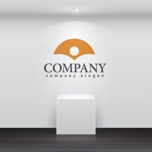 画像2: 銀杏・太陽・山・扇・ロゴ・マークデザイン688