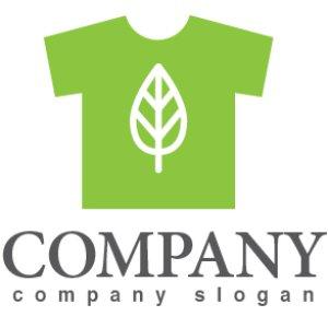 画像1: Tシャツ・葉・緑・ロゴ・マークデザイン731