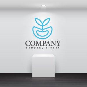 画像2: 葉・水・成長・ロゴ・マークデザイン824
