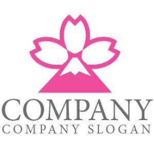 画像1: 桜・富士山・花びら・ロゴ・マークデザイン918