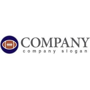 画像2: アメリカンフットボール・ボール・輪・ロゴ・マークデザイン011