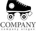 スケート・ローラースケート・ロゴ・マークデザイン016