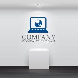 画像2: PC・地球・インターネット・ロゴ・マークデザイン145
