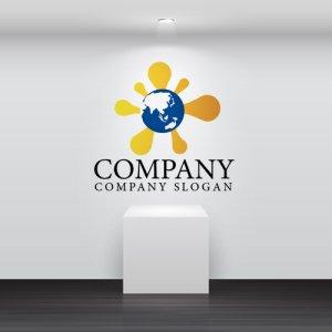 画像2: 太陽・地球・躍動・ロゴ・マークデザイン216