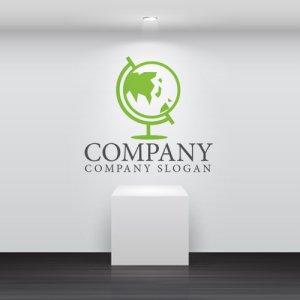 画像2: 地球・地球儀・世界・ロゴ・マークデザイン242